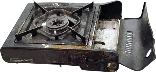 Close Valve After Youu0027ve Given It All You Have And Reassemble Your Stove.  Warning   This Is REALLY DANGEROUS.