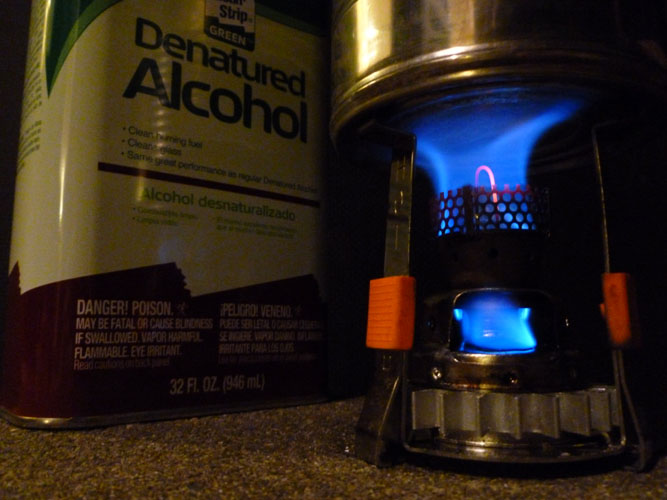 Zen stoves g micro psl wax gasifier stove review for Denatured alcohol for fireplace