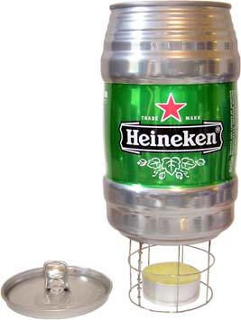 Heineken CanPot Tea Light Alocohol Stove System