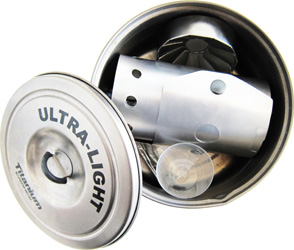 Flat Cat Bobcat Alcohol Stove- Stored