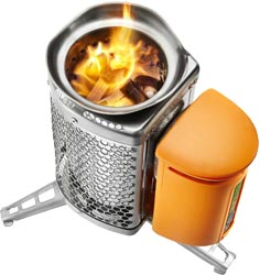 BioLite Thermoelectric Wood Stove