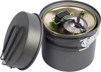 Optimus Crux Canister Stove Packed