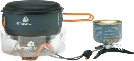 JetBoil Helios Canister Cooking System