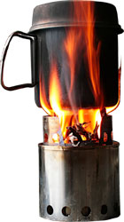Backpacking Wood Stove