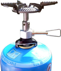 SuperGnat Hybrid Universal Canister Stove
