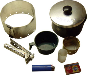 Grease Pot Cooking System