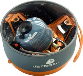 JetBoil Helios System - Packed